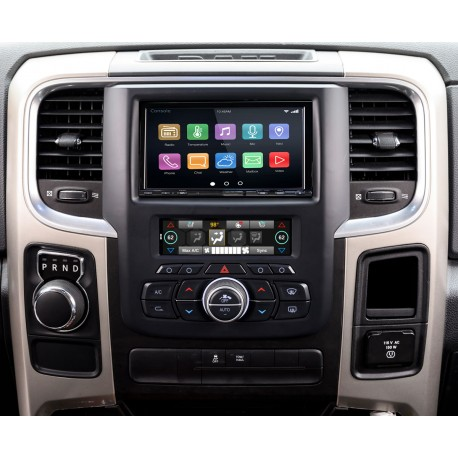 "RadioPRO Integrated Installation Kit with Integrated Climate Controls For Select RAM Trucks with 8"" Display"