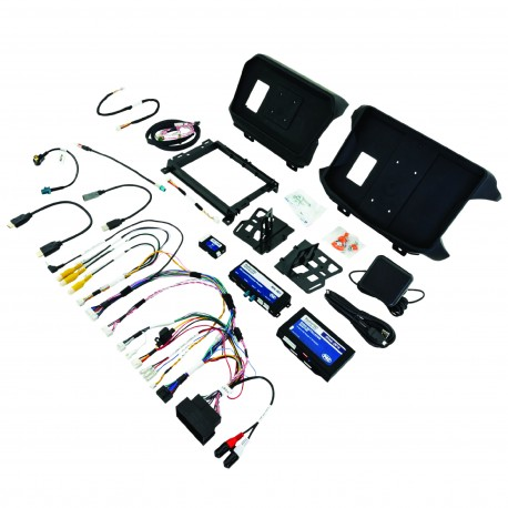 RadioPRO Integrated Installation Kit with Integrated Controls For Jeep Wrangler JL and Gladiator JT