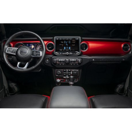 RadioPRO Advanced Integrated Installation Kit with Integrated Controls For Jeep Wrangler JL and Gladiator JT