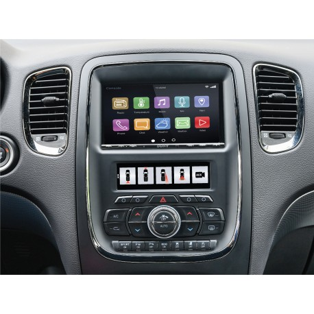 RadioPRO Integrated Installation Kit with Integrated Climate Controls for 2014-2020 Dodge Durango