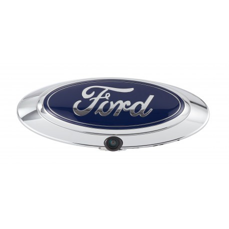 """1/4"""" CMOS FORD EMBLEM CAMERA WITH PARKING LINES FOR F-150 & SUPER DUTY"""
