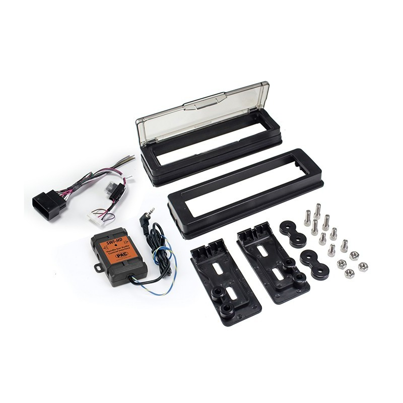 Radio Replacement Kit for Harley-Davidson - PAC on wiring harness for honda radio, antenna for aftermarket radio, wiring harness for military radio, wiring harness for car radio, wiring harness for porsche radio,