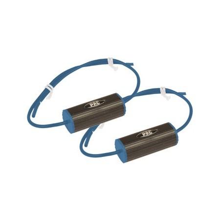 """Set of 2 Bass Blockers (6"""" X 9"""") 0-300hz (4 Ohm), 0-150hz (8 Ohm) Blue"""