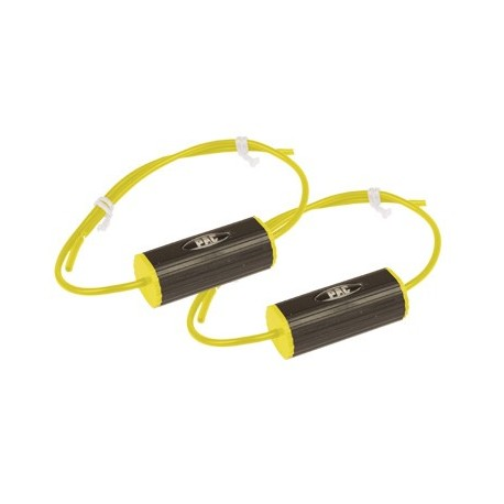"Set of 2 Bass Blockers(5 1/4"") 0-800hz (4 Ohm), 0-400hz (8 Ohms) Yellow"