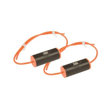 "Set of 2 Bass Blockers (4"") 0-1.2Khz (4 Ohm), 0-600hz (8 Ohms) Orange"