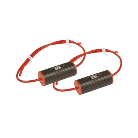 "Set of 2 Bass Blockers (3 1/2"") 0-2.8Khz (4 Ohm), 0-1.4Khz (8 Ohms) Red"