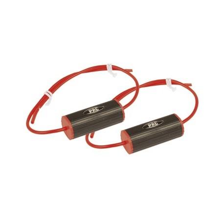 "Set of 2 Bass Blockers (3 1/2"") 0-2.8Khz (4 Ohm), 0-1.4Khz (8 Ohms) Red"