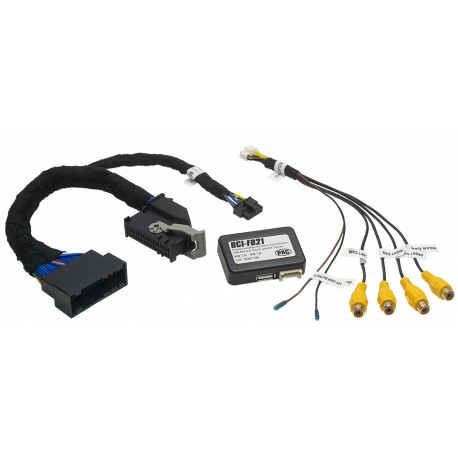 Backup Camera Interface with Camera Switcher