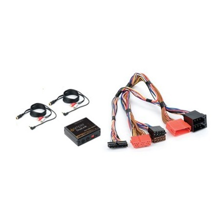 Dual Auxiliary Audio Input Interface for Select Volkswagen Vehicles