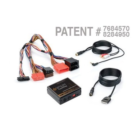 iPod®/iPhone® and Auxiliary Audio Input Interface for Select Volkswagen Vehicles
