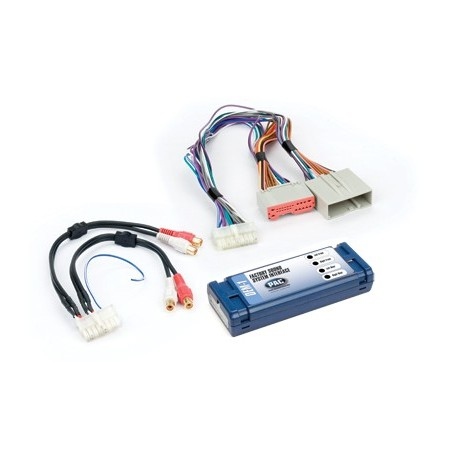 Amplifier integration interface for Ford, Lincoln, Mercury vehicles