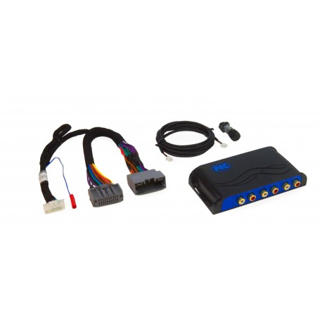 Amplifier Integration Interface for Select Chrysler, Dodge, Jeep, and RAM vehicles with amplified sound systems