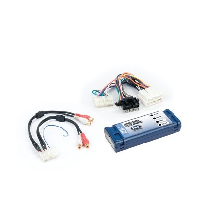 Amplifier integration interface for General Motors vehicles