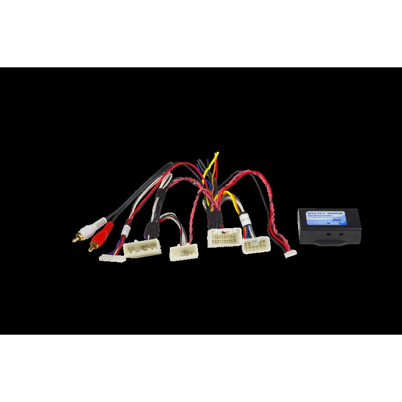 pac radio pro wiring diagram wiring diagram options radiopro 3 radio replacement interface for select toyota vehicles pac pac radio pro wiring diagram