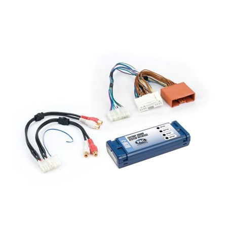 Amplifier integration interface for Mazda vehicles
