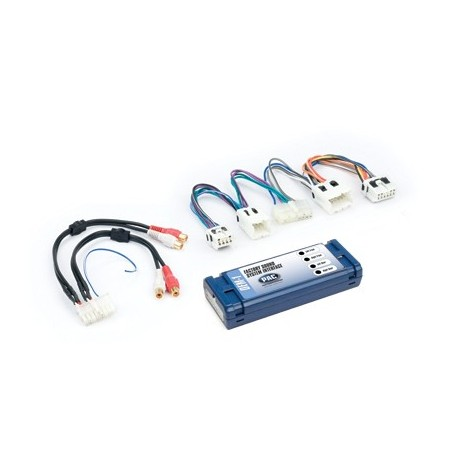 Amplifier integration interface for Nissan vehicles