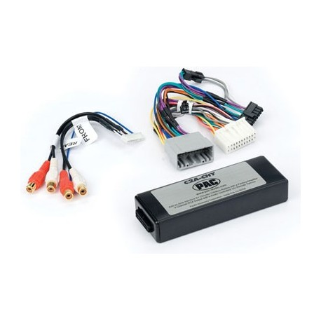 Amplifier integration interface for Chrysler LSFT CAN Bus vehicles