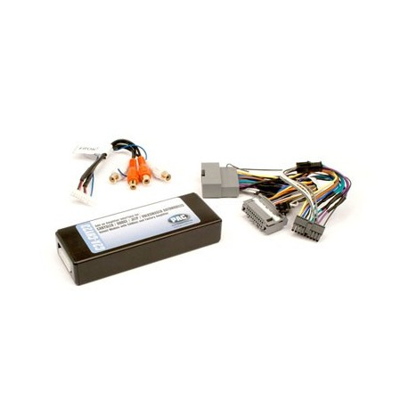 Amplifier integration interface for Chrysler LSFT and MS-CAN Bus vehicles DISCONTINUED