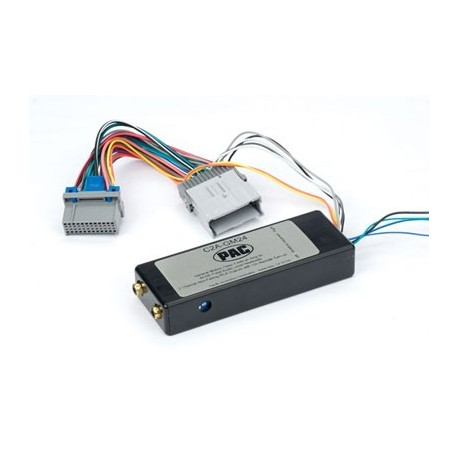 Amplifier integration interface for class 2 General Motors vehicles
