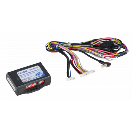 Universal Analog/CAN-Bus Steering Wheel Control Interface With Smart Phone/PC App Programmability
