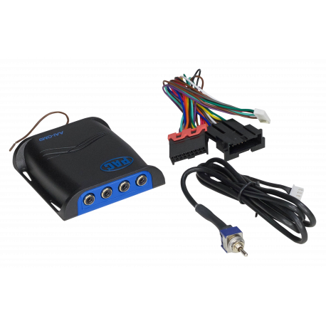 Dual Auxiliary Audio Input Interface for Select General Motors Vehicles