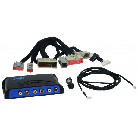 Amplifier Integration Interface for Select Ford and Lincoln Vehicles with Factory Sony Amplified Sound Systems