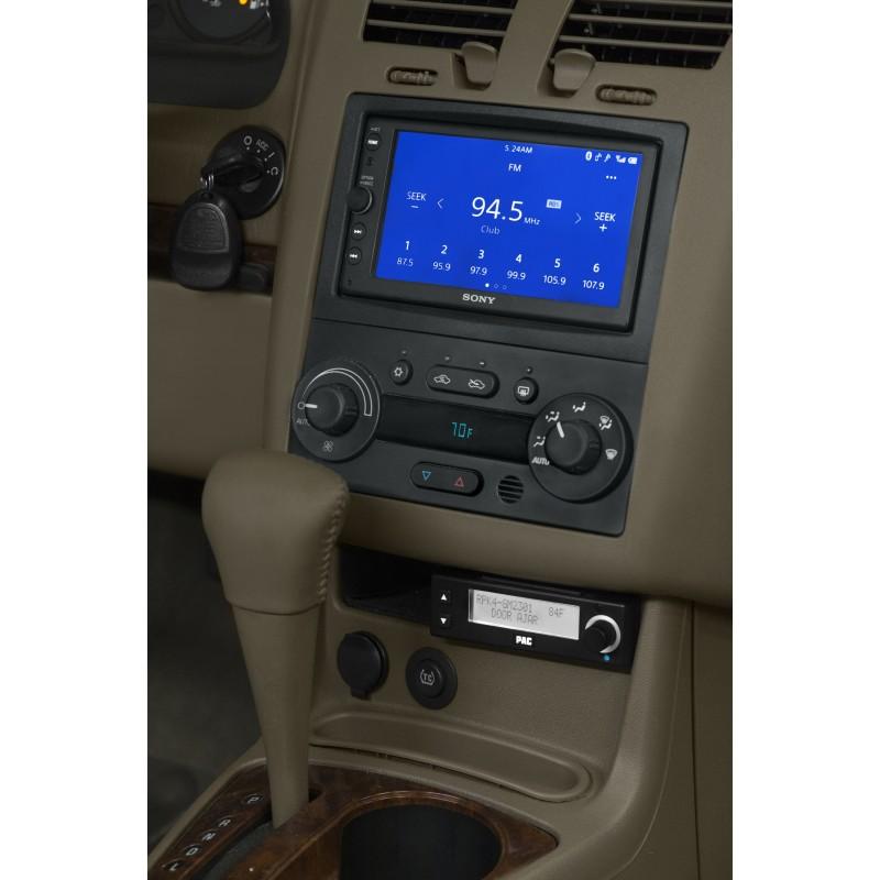 Malibu Integrated Radio Replacement Kitrhcatalogpacaudio: 2007 Pontiac G6 Radio Dash Kit At Gmaili.net