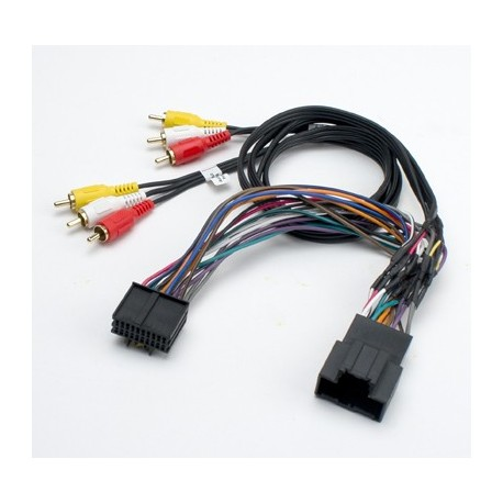 Overhead LCD Retention Cable for General Motors Vehicles With Rear Seat Entertainment