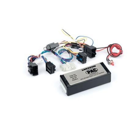 Turn-On Interface for 29-bit LAN General Motors Radios