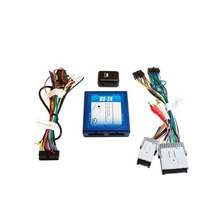 Radio Replacement Interface with Onstar Retention for Class II General Motors Vehicles