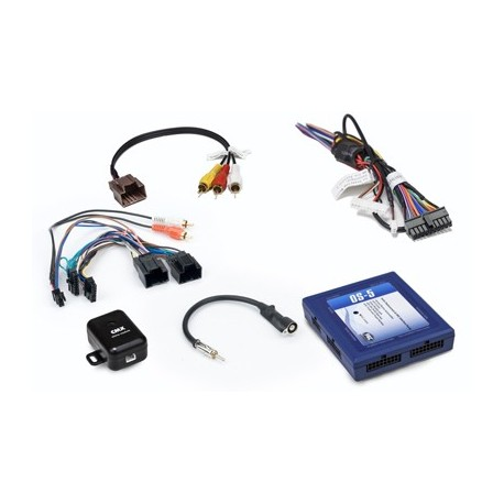 Radio Replacement Interface with OnStar Retention for 29-bit LAN General Motors Vehicles
