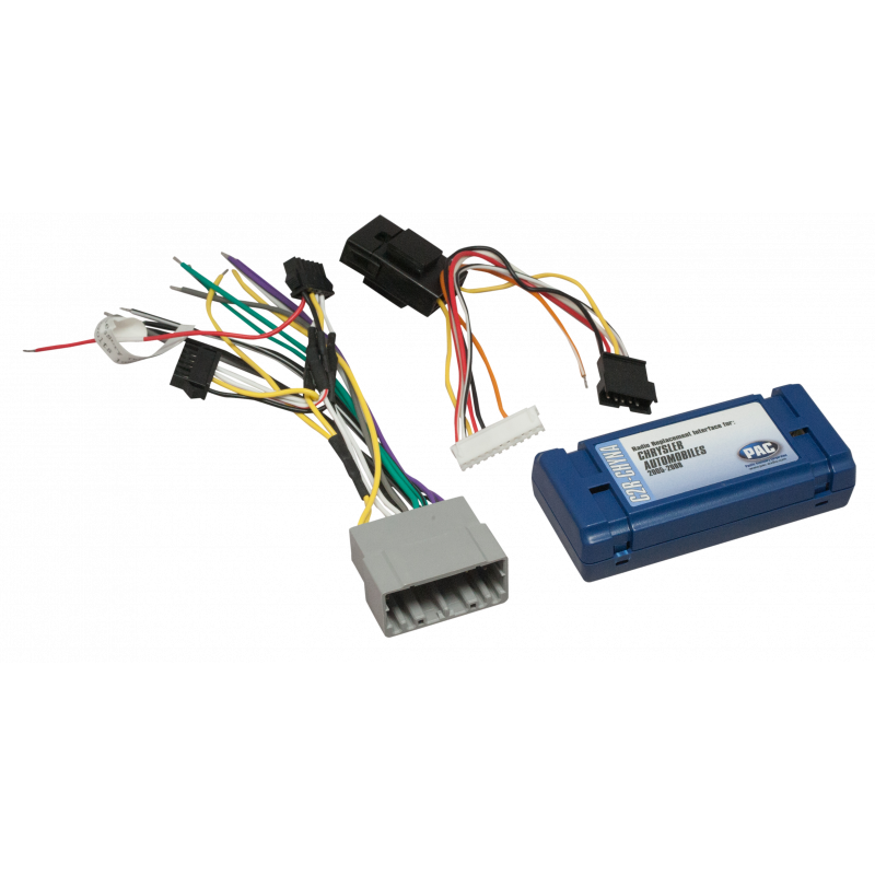 Radio Replacement Interface for Non-Amplified Chrysler, Dodge, Jeep on
