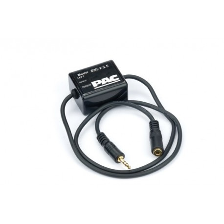 GROUND LOOP ISOLATOR W/3.5MM PLUGS