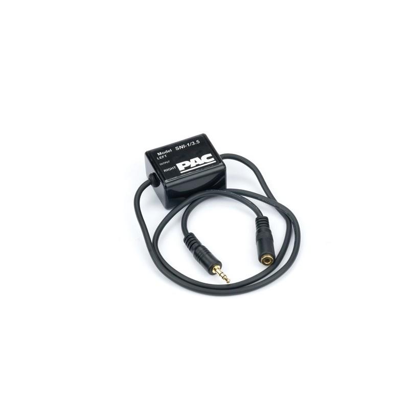 Ground Loop Isolator W  3 5mm Plugs