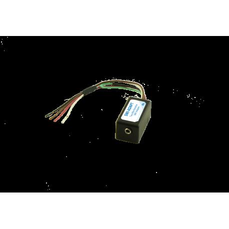 Steering wheel control input adapter