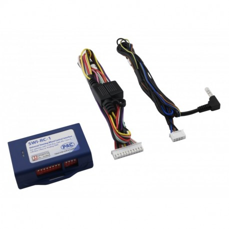 Universal Analog/CAN-Bus Steering Wheel Control Interface With DIP Switch Programming
