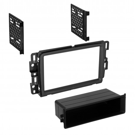 2013-2015 TRAVERSE / ARCADIA/ ENCLAVE SINGLE ISO w/POCKET or DOUBLE DIN