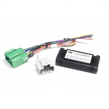 Low Cost Radio Replacement Interface for Select General Motors Vehicles