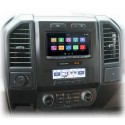 """Complete Radio Replacement Kit with Integrated Climate Controls for select Fords with 8"""" Display"""
